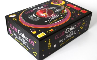 Coffret collector Club Coke disponible à la vente