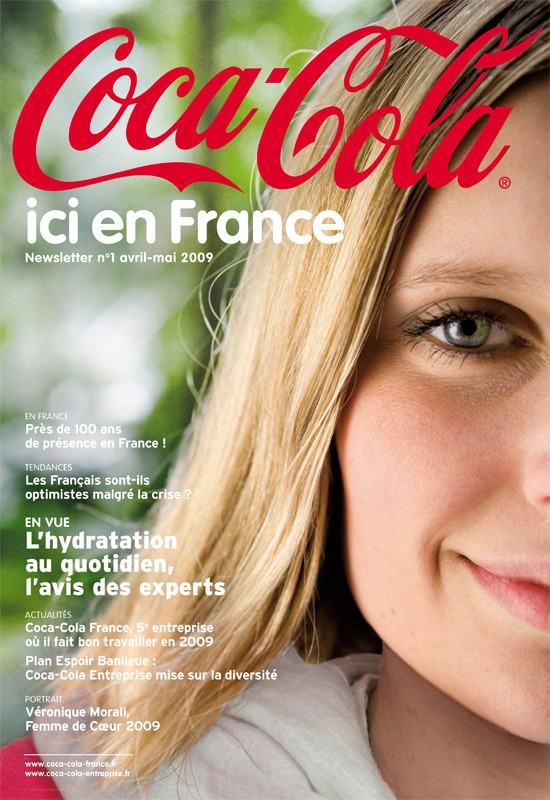 Coca-Cola ici en France, la newsletter de Coca-Cola