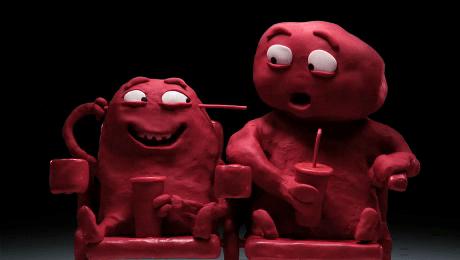 Publicité Coca-Cola : Pâte à modeler (vidéo)