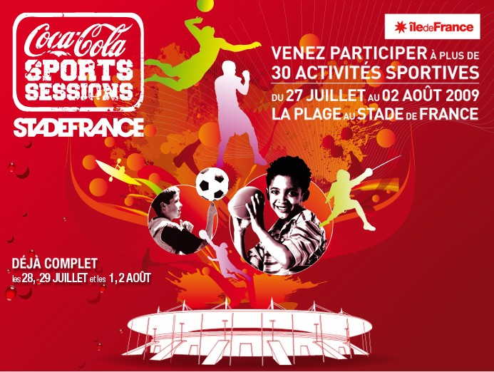 Faites du sport au Coca-Cola Sports Sessions
