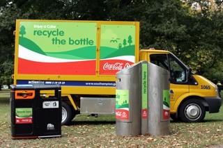 Coca-Cola lance le premier centre de recyclage en centre ville