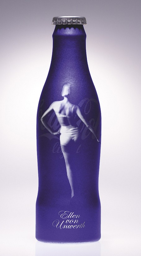 Bouteille Collector : Coca-Cola Light by Ellen von Unwerth