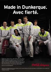 "Campagne Coca-Cola ""Made in France"""