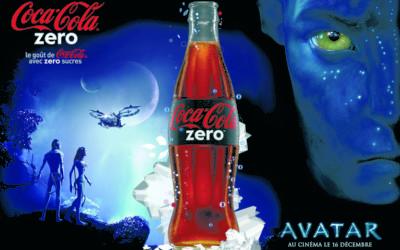 Coca-Cola Zéro partenaire du film Avatar
