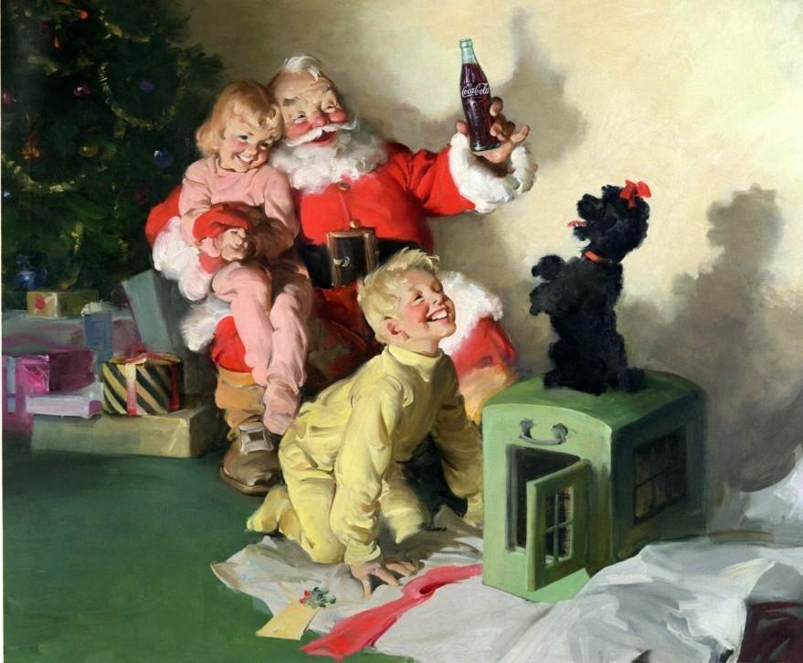 Le Père Noël est-il dopé au Coke ? (édito pour Overblog)