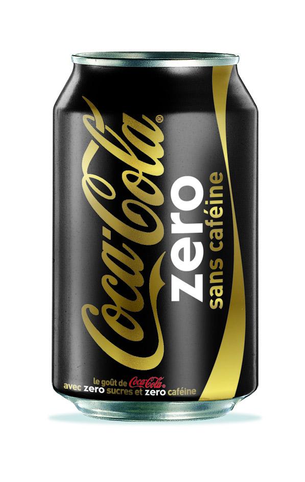 Le Coca-Cola Zéro sans caféine arrive dans vos verres