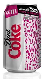 Coca-Cola Light : Canette Collector en Grande-Bretagne