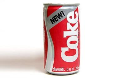 Le New Coke, ou l'histoire d'un échec