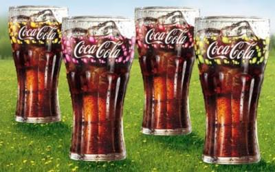 Collection de verres Coca-Cola pour l'été 2010