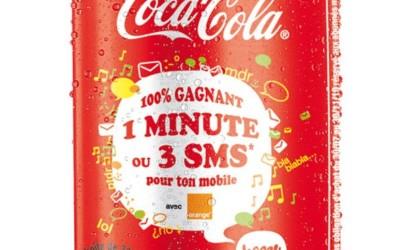 Coca-Cola et Orange lancent Happy Blabla