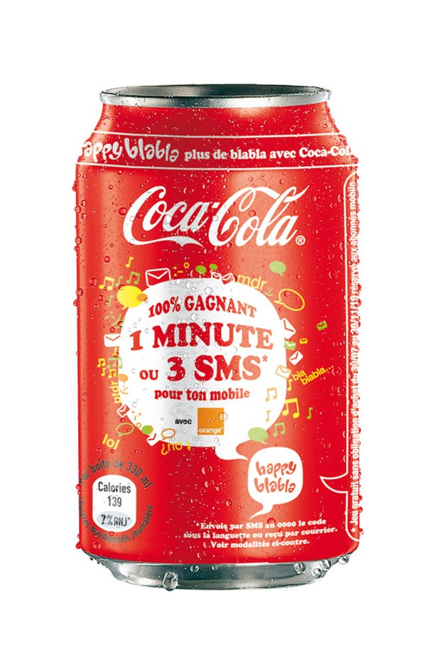Coca-Cola et Orange lancent Happy Blabla