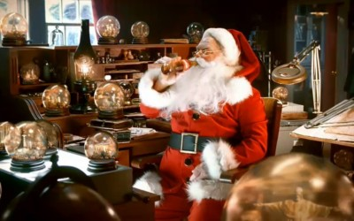 Publicité Coca-Cola pour Noël 2010