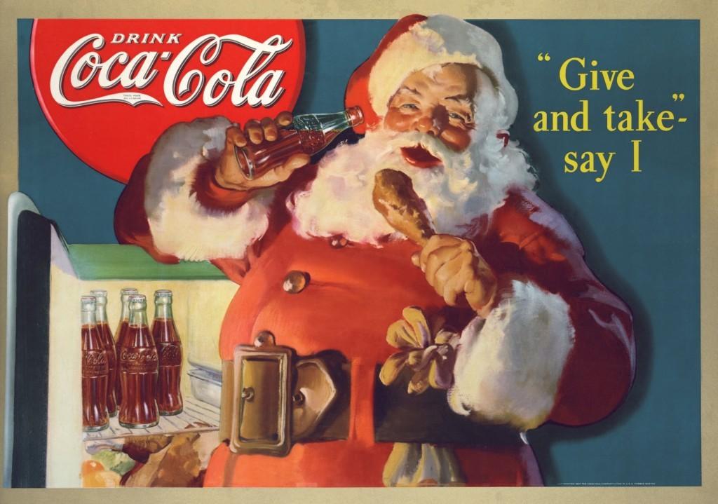 Coca-Cola fête Noël partout dans le monde, chez BlogoErgoSum