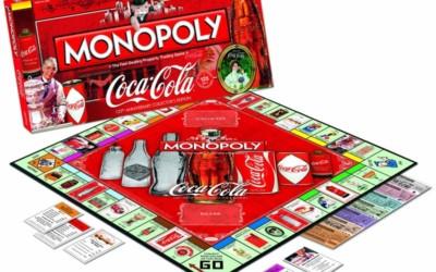 Monopoly célèbre les 125 ans de Coca-Cola