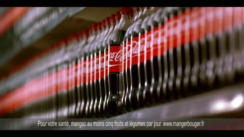Publicité : l'aventure d'une bouteille de Coca-Cola