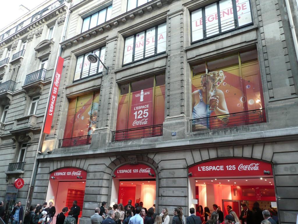 L'Espace 125 de Coca-Cola en photos et vidéos