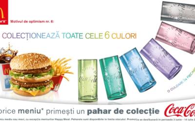 Nouveaux verres Coca-Cola chez Mc Donald's à collectionner