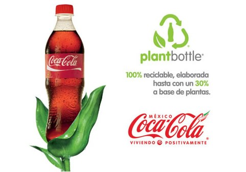 La PlantBottle de Coca-Cola arrive en Europe