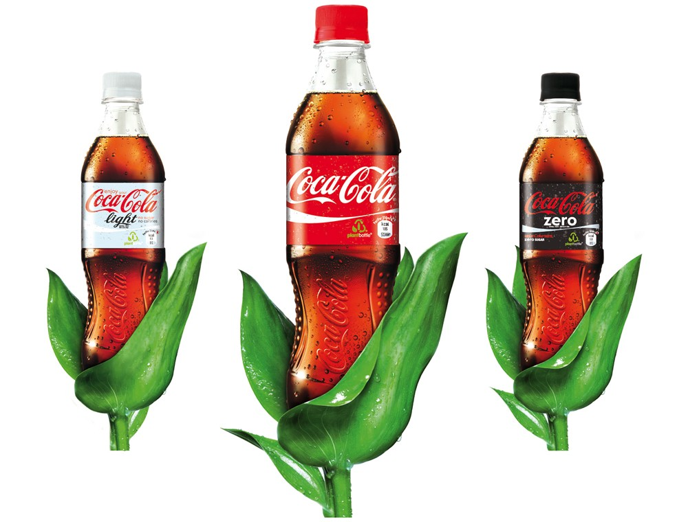 La PlantBottle de Coca-Cola fait son apparition en France