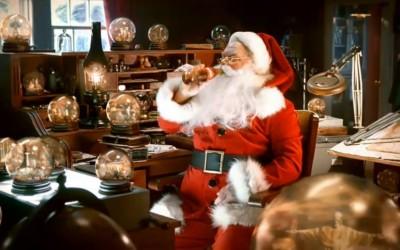 Publicité Coca-Cola pour Noël 2011