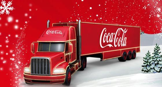 La Parade de Noël Coca-Cola dans toute la France