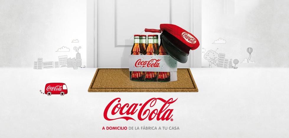 Coca-Cola livre à domicile à Madrid