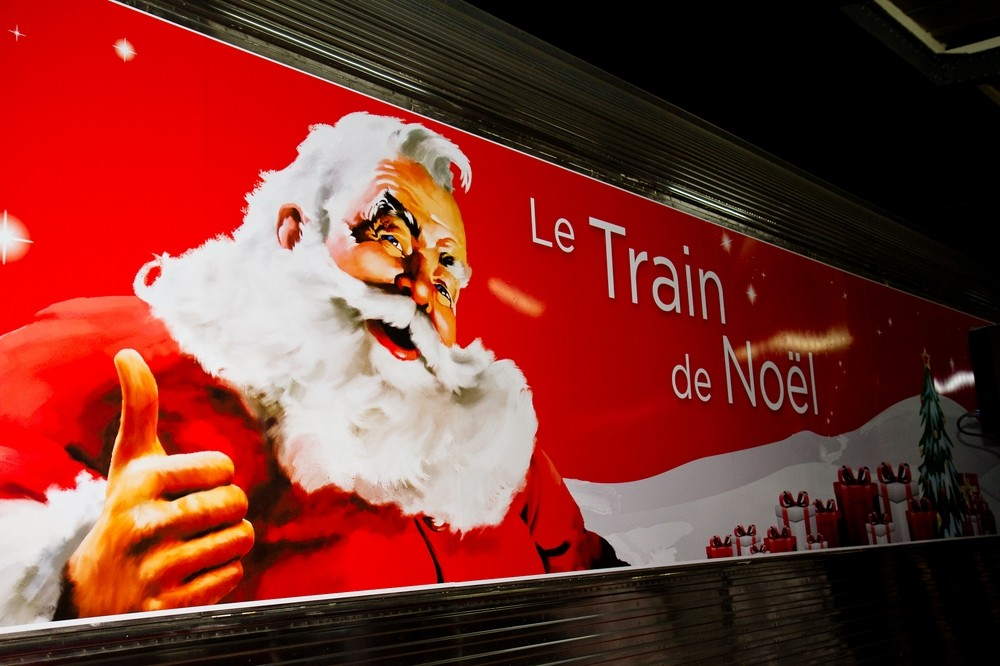 Inauguration et visite du Train de Noël Coca-Cola en photos