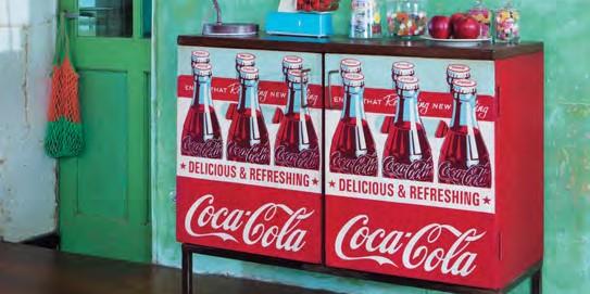 Une collection Coca-Cola chez Maisons du monde