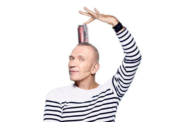 Jean-Paul Gaultier devient le directeur artistique de Coca-Cola Light