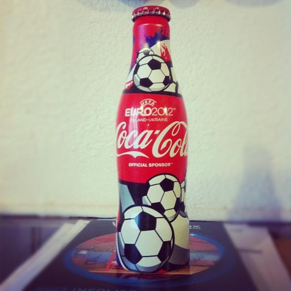 Bouteille Collector Euro 2012 chez Carrefour