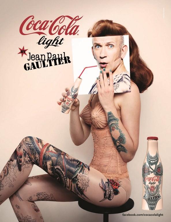 La bouteille Coca-Cola Light Tatoo se dévoile