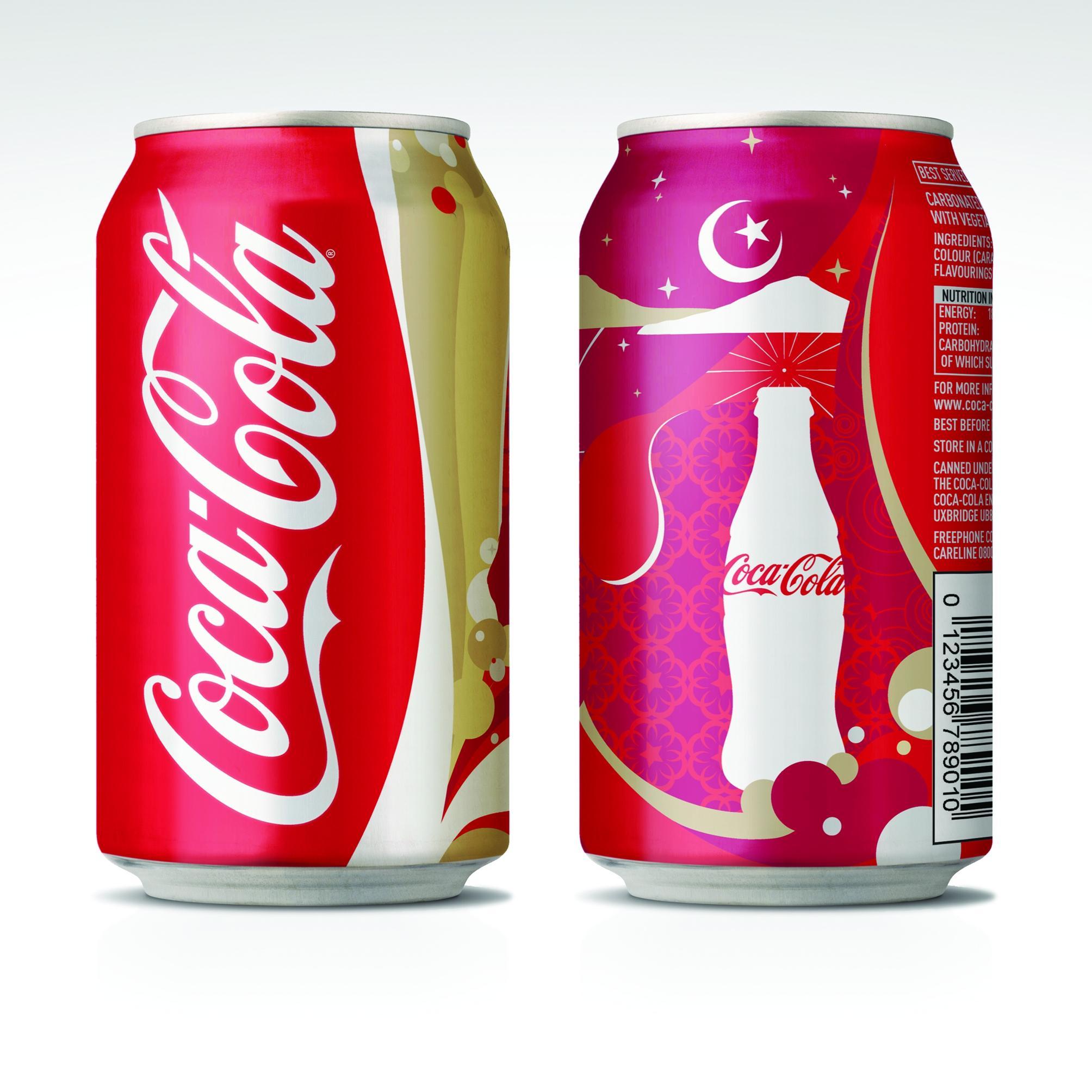 Coca-Cola redécore ses canettes pour le ramadan