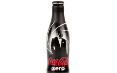 Bouteille collector Coca-Cola Zéro Zéro 7 disponible chez Colette
