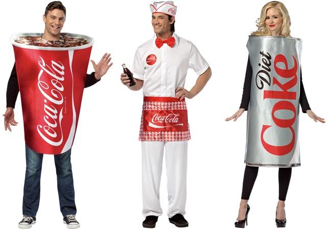Déguisez-vous avec les costumes Coca-Cola