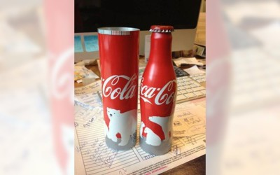 La bouteille Coca-Cola collector de Noël se dévoile