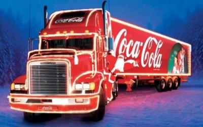 Les camions de Noël Coca-Cola : histoire et publicités