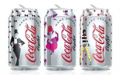 Les canettes Coca-Cola Light habillées par Marc Jacobs se dévoilent