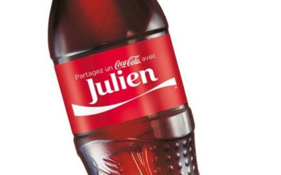Bientôt, votre prénom sur une bouteille de Coca-Cola !