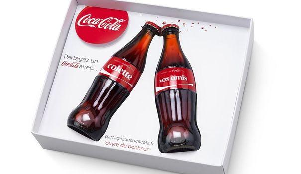 """Coffret collector """"Partagez un Coca-Cola"""""""