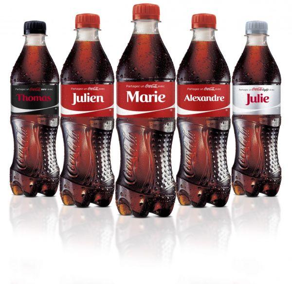 Partagez un Coca-Cola : plus d'infos sur la campagne