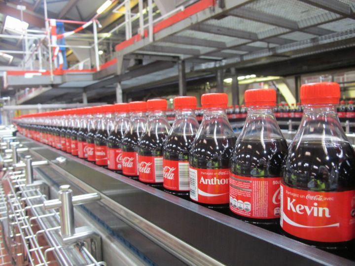 Visitez en photos l'usine Coca-Cola de Clamart