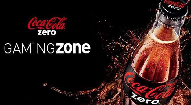 Découvrez la Coca-Cola Zero Gaming Zone