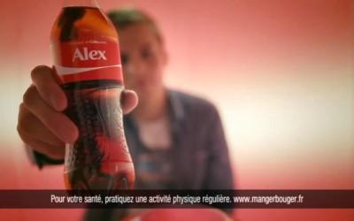 Partagez un Coca-Cola : la publicité
