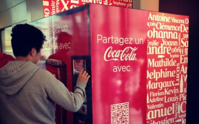 Personnalisez votre canette de Coca-Cola chez Colette