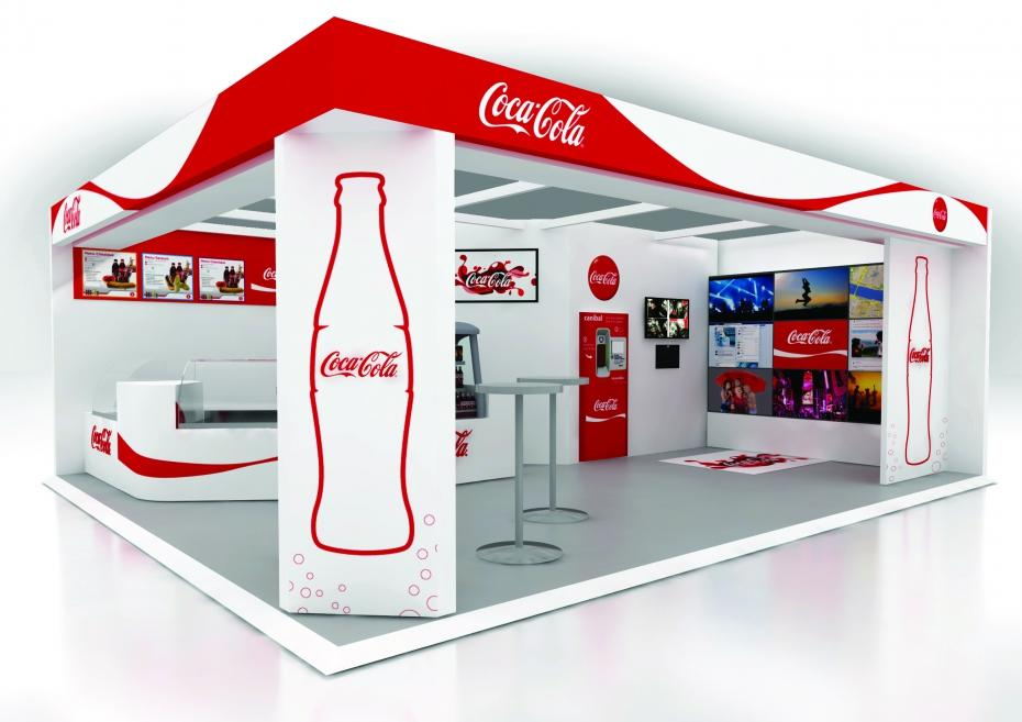 Une boutique Coca-Cola éphémère à Montparnasse