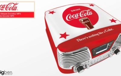 Bigben Interactive lance une nouvelle gamme audio en partenariat avec Coca-Cola