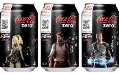 Découvrez Coca-Cola zero PlayStation All-Stars Island