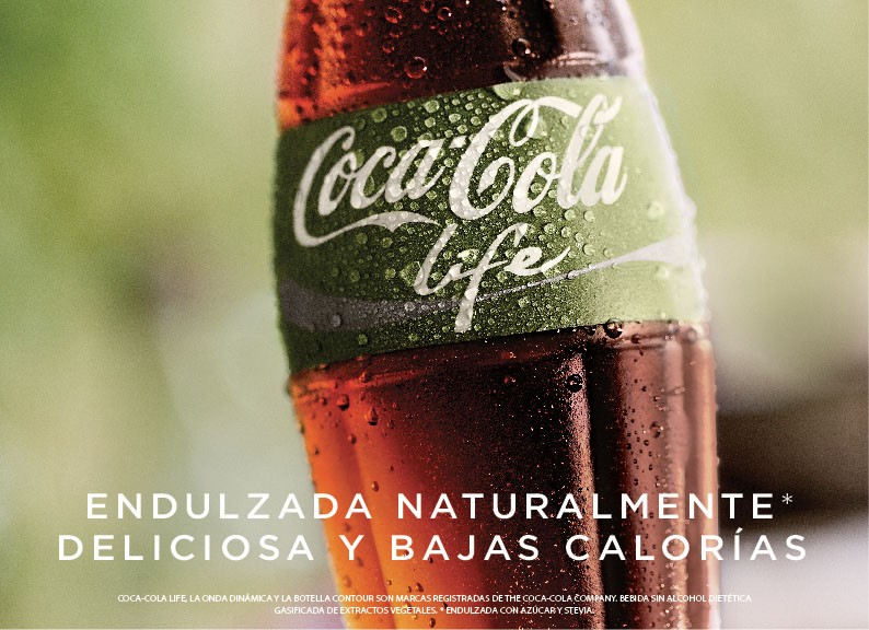 Coca-Cola Life arrive en septembre en Grande-Bretagne