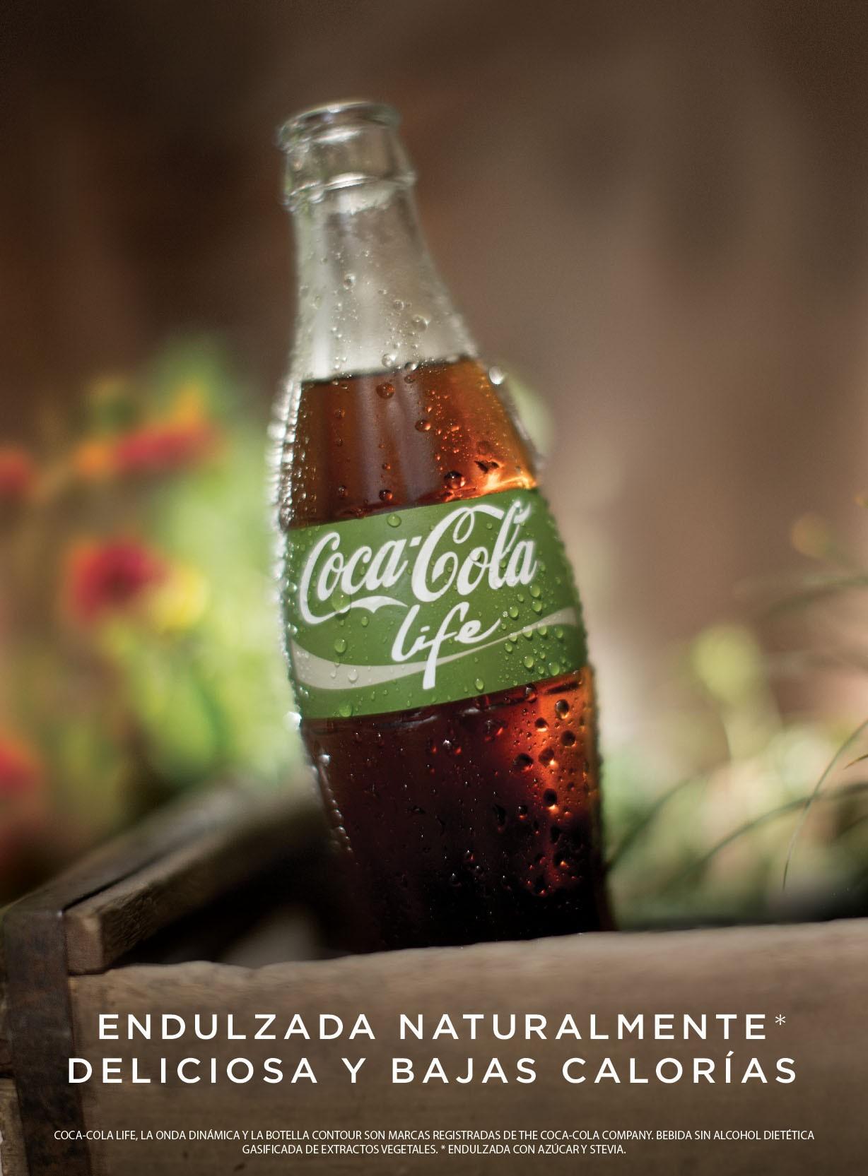 Coca-Cola Life, le nouveau Coca-Cola à base de stevia