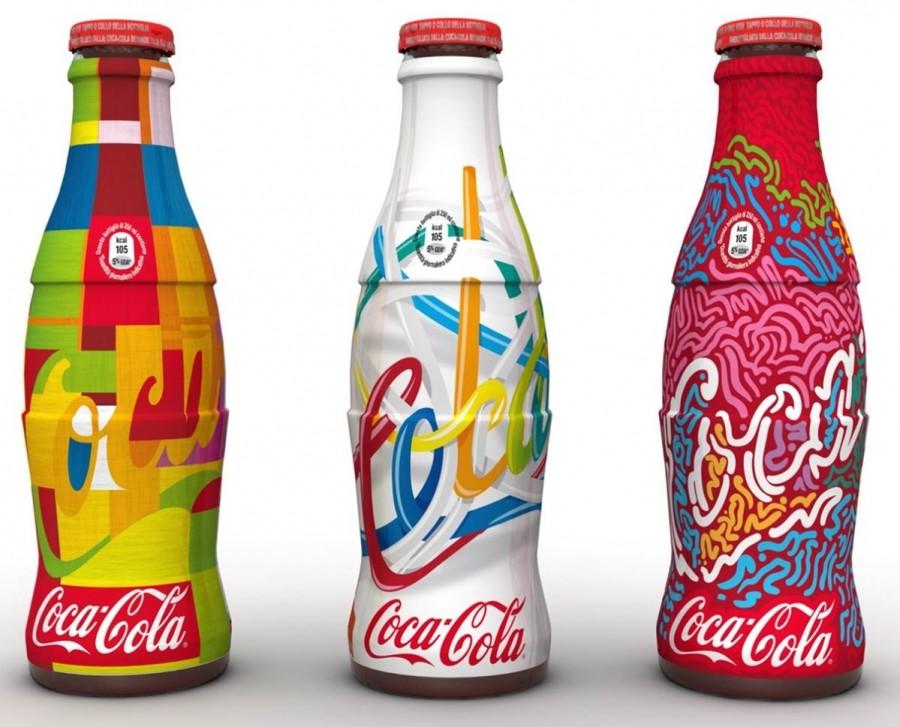 Une série de bouteilles collector colorées en Sicile